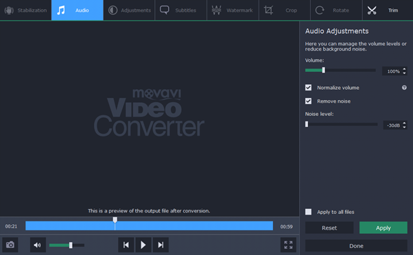 Use Movavi Video Converter To Turn Videos Into Music Files