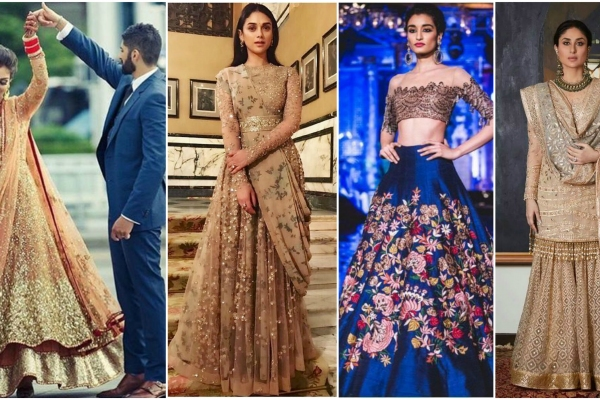 Reception Sarees & Lehengas For Indian Bride To Look Gorgeous
