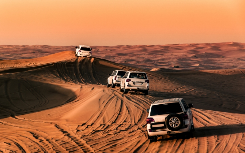 Making The Most Of Dubai's Desert