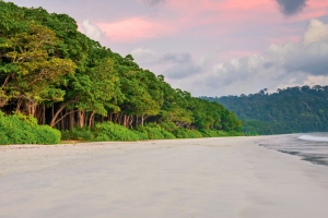 Sunset at Radha nagar Beach, Havelock Island, Andaman and Nicobar, India