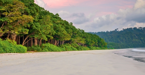 Sunset at Radha nagar Beach, Havelock Island, Andaman and Nicobar, India
